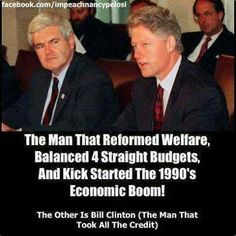 Yep!  IT WAS NEWT GINGERICH (SPELLING ?) AND THE REPUBLICANS WHO DID IT WHEN HILLARY LOST THE CONGRESS TO THE REPUBLICANS WITH HER HILLARYCARE!!  NO ONE WOULD PUT UP WITH SOCIALIZED MEDICINE IN THE EARLY 90'S!!  I WAS WATCHING THIS...ALL TRUE!  WE WERE SAVED THEN BY REPUBLICANS I HOPE IT HAPPENS AGAIN!