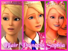 Barbie Princess Charm School Fan Art Blair