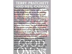 Good Omens by Terry Pratchett and Neil Gaiman