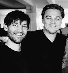 Tobey Maguire and Leonardo DiCaprio
