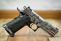 4,057 vind-ik-leuks, 29 reacties - Gun Haven (@gunhaven) op Instagram: 'Awesome from @tacticalinnovations - Flying tiger 2011 #stiinternational #1911 #edc #9mm #cerakote…'