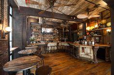 70 best Vintage bar/restaurant images on Pinterest | Bar interior ...