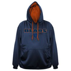 Buy Men s Majestic Navy Chicago Bears Big and Tall Fashion Pop Pullover  Hoodie from the ultimate d805754f5