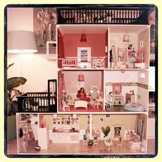 Barbie dollhouse in 1:6 size, Part 1
