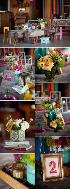 Colorful and Eclectic 2nd Birthday Party