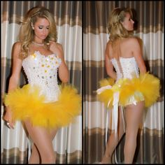 Paris Hilton Rockin my favorite outfit made by Electric Laundry at EDC 2013. #electriclaundry