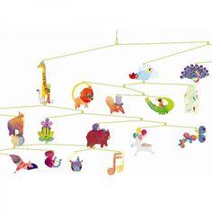 Djeco Mobile Karneval der Tiere aus der Serie little BIG room - Bonuspunkte sammeln, auf Rechnung bestellen, Blitzlieferung per DHL