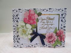 Handmade card using Anna Griffin Papers for by grannyscupboards, $6.00