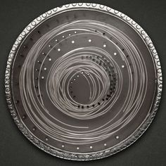 Carla Pennie Jewelry Design – Brooches – Silver wire and black resin brooch