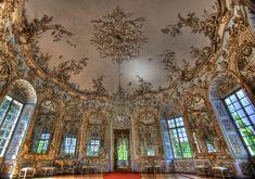 Cuivilles. Amalienburg - Salón circular
