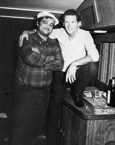 Classic Photo: John Belushi and Jerry Lee Lewis, professional hellraisers