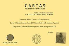 Libro de cartas y partituras musicales de Felisberto Hernández | cooltivarte.com
