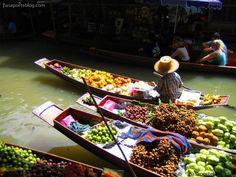 Bangkok: Mercado flotante