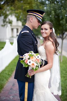 military wedding / historic downtown franklin / nashville wedding photography