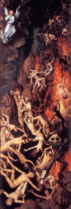 Страшный суд Триптих (подробно): 1467-71