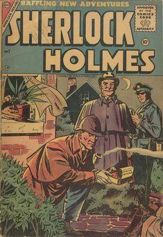 Digital Comic Museum Comic Viewer: Sherlock Holmes 001 Charlton Oct-1955 36p More in http://digitalcomicmuseum.com/