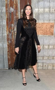 Liv Tyler attends the Givenchy show during Spring 2016 New York Fashion Week