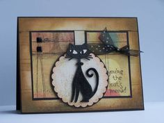 { The Cats Meow } Stampin' Up! Cool Cat