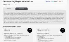 Curso de Inglés para Comercio gratuito para seguir en línea