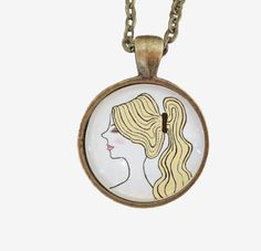 illustrated pendant