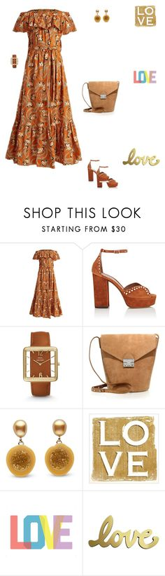 """""""Love, love, love."""" by lle00000 ❤ liked on Polyvore featuring La DoubleJ, Tabitha Simmons, FOSSIL, Loeffler Randall and Native State"""