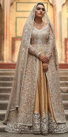 pakistani wedding dresses Exciting Indian Wedding Dresses That Youll Love indian wedding dresses traditional lehenga with long sleeves gold lace pakistanbridalwear Pakistani Wedding Dresses Online, Asian Bridal Dresses, Indian Wedding Gowns, Muslim Wedding Dresses, Bridal Dresses Online, Pakistani Bridal Dresses, Bridal Outfits, Bridal Gowns, Indian Weddings