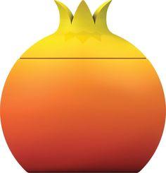 Alessi Fruit Sugar Bowl