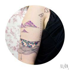 As tatuagens criadas por Kizun Kizun são todas originais, únicas e personalizadas de acordo com cada cliente. Conheça a arte do incrível estúdio argentino!
