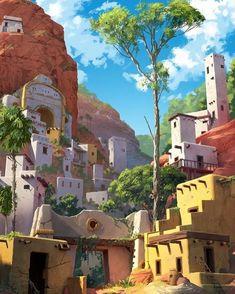 Hidden city #illustration #sketching