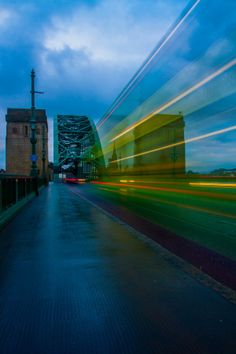 Tyne Bridge which crosses the River Tyne linking Newcastle and Gateshead ~ England