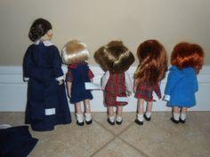Eden-Madeline-dollhouse-original-face-5-DOLL-LOT-miss-clavel-nicole-chloe-more
