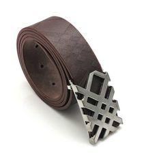 New Unisex Accessory Faux Leather Clubbing Fashion Waist Belt B25 Silver Buckle | eBay