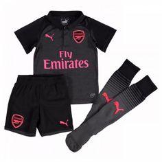 Arsenal Dětské Alternativní dres komplet 17-18 Krátký Rukáv