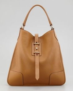 Nottingham 38 Hobo Bag, Nutmeg by Belstaff at Neiman Marcus. Tote Bags, My Bags, Luggage Bags, Purses And Bags, Leather Shoulder Bag, Leather Bag, Real Leather, Shoulder Strap, Brown Leather