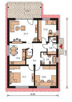 Rodinný dom Bungalow 46