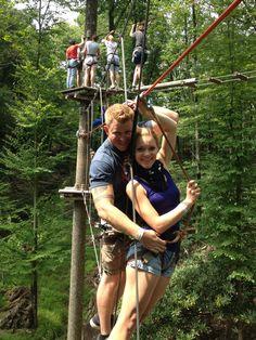 Camelback treetop adventures. Camelback mountain, poconos pa