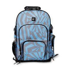 Backpack iPack - Blue Angles Print (good price fb190ed67aeb7