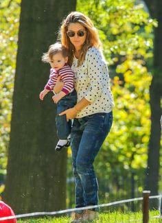 Drew Barrymore & Olive: Central Park Pals
