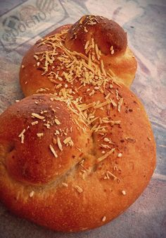 Parmesan bread, happy Tuesday