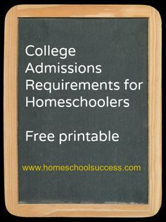for College Requirements FREE Printable for College Requirements USe this guide to plan your child's high school studies!FREE Printable for College Requirements USe this guide to plan your child's high school studies! Homeschool High School, Homeschool Curriculum, Homeschool Transcripts, Homeschooling Resources, College Admission Requirements, School Plan, School Schedule, School Tips, School Stuff