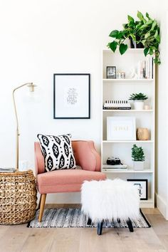 Awesome Clean And Fresh Small Living Room Decorating Ideas - Living Room . - Awesome Clean And Fresh Small Living Room Decorating Ideas – Living Room Small Living Rooms, Living Room Modern, Living Room Interior, Living Room Furniture, Home Furniture, Living Room Decor, Tiny Living, Living Room Nook, Simple Living