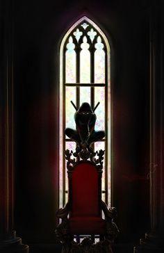 Throne of Glass Fan Art by @Uponadaydreamer. Celaena Sardothien in stealth mode.