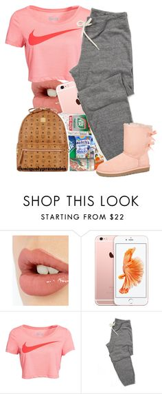 """Chill"" by dajvuuloaf ❤ liked on Polyvore featuring Charlotte Tilbury, NIKE and UGG Australia"