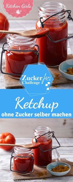 A sugar-free ketchup that is paleo and low carb? We'll tell you the recipe. A sugar-free ketchup that is paleo and low carb? We'll tell you the recipe. Paleo Recipes, Low Carb Recipes, Detox Recipes, Law Carb, Sugar Free Ketchup, Low Carb Ketchup, Paleo Dessert, No Carb Diets, Clean Eating Recipes