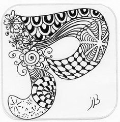 ... doodle letters inspirations patterns letters zentangle letters doodles