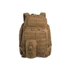 511 Tactical 58602-131 Desert Backpack : 5.11 Rush 72 VTAC Bag ❤ liked on Polyvore featuring bags, backpacks, knapsack bags, brown backpack, rucksack bag, backpacks bags and brown bag