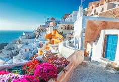 Travelling to Greece? Whether you've got your sights set on Corfu, Santorini, Mykonos or Rhodes, there are a few things you need to know before you go. Caldera Santorini, Mykonos, Adventure Tours, Adventure Travel, Amazing Destinations, Travel Destinations, Vacation Travel, Travel Tips, Greek Island Holidays