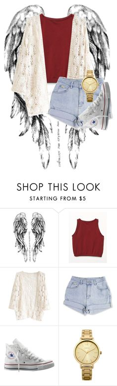 """""""Sin título #673"""" by brenda-199 ❤ liked on Polyvore featuring Free People, Converse and Oasis"""