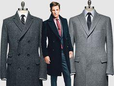 пальто мужское в картинках