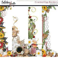 Breakfast is everything! The beginning, the first thing. It is the mouthful that is the commitment to a new day! – A.A. Gill . In Cracked Egg, a digital scrapbooking collection by Snickerdoodle Designs by Karen, you will find everything you need to scrap your favorite breakfast or brunch.